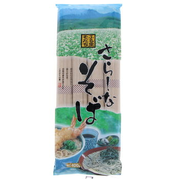 Traditional Soba buckwheat noodles 400g  (4x100g)