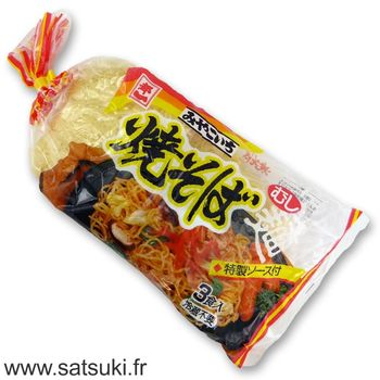 Miyakoichi yakisoba noodles with soup 570g - 3 servings