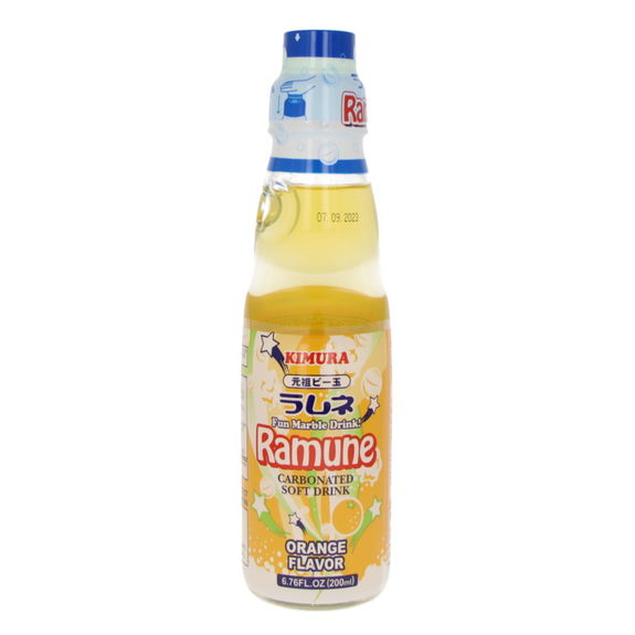 Limonade japonaise Ramune orange 200ml