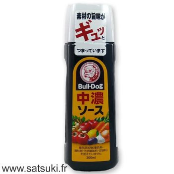 Sauce chuno Bull-Dog 300ml