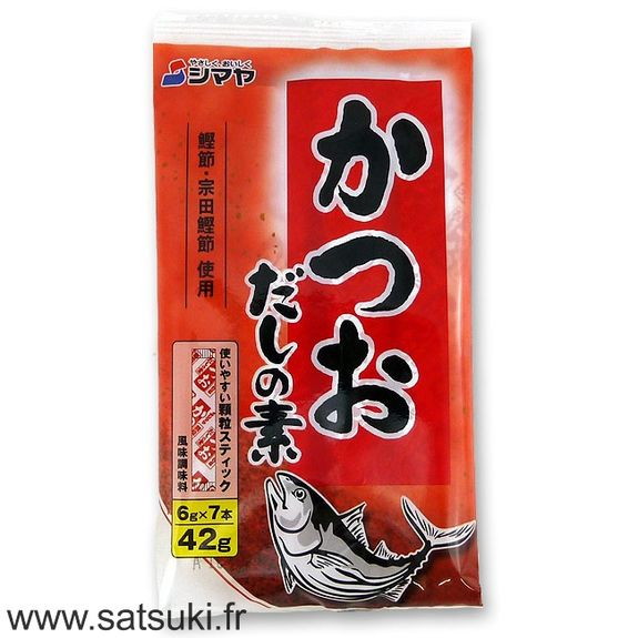 Dashi à la bonite en stick 42g