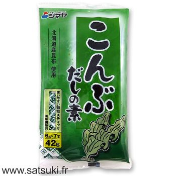 Kombu seaweed Dashi powder stick 42g (6x7g)