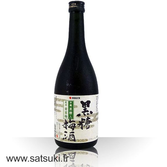 Okinawa black sugar umeshu 720ml