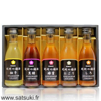 Umeshu 5x180ml Gift set