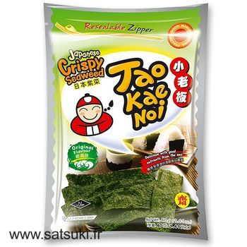 Taokaenoi crispy seaweed snack original 36g
