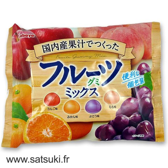 Fruits gummy mix 170g