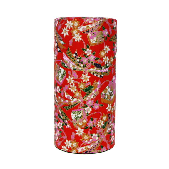 Tea canister red 200g