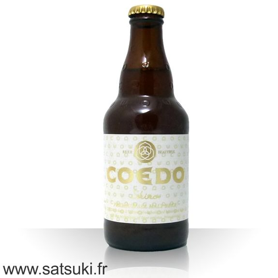 Beer Coedo shiro