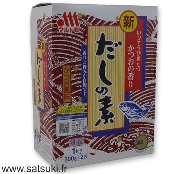 Dashi stock powder 1kg (2x500g)