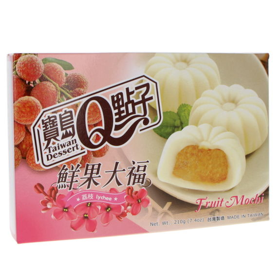 Fruity mochi with lychee 210g (6p)