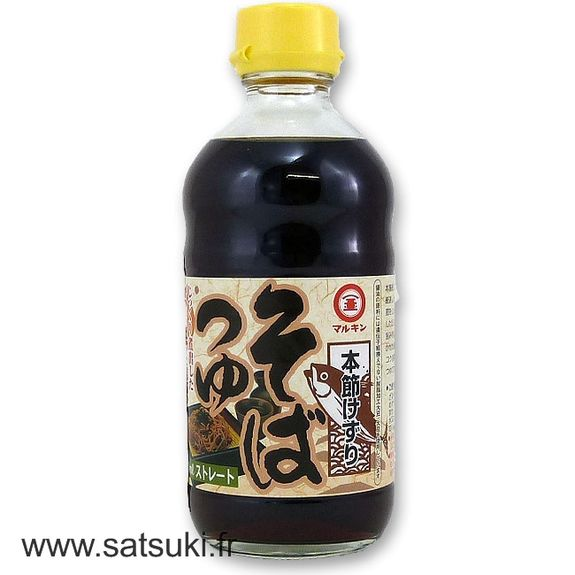 Soup base for soba 340ml
