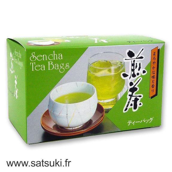 Green tea without additives