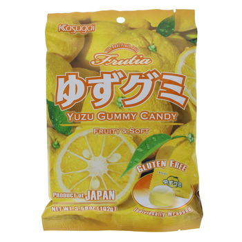 Yuzu gummy soft candy 102g