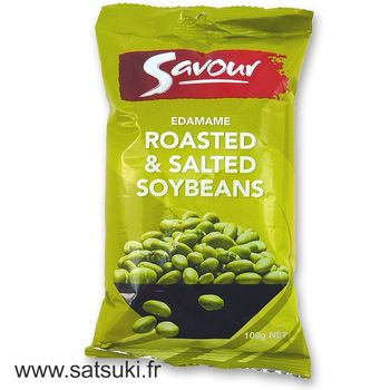 Roasted and salted Soybeans Edamame 100g