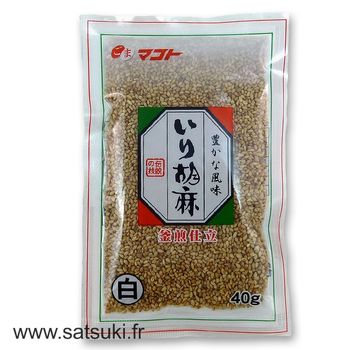 Roasted white sesame 40g