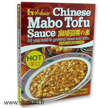 House mabodofu sauce hot 150g