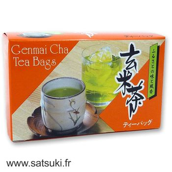 Hamasa genmaicha roasted rice tea 40g - 20 teabags