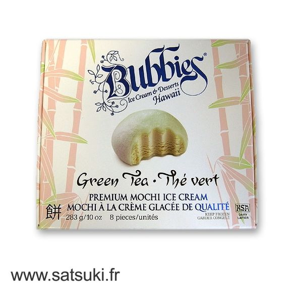 Mochi ice cream with green tea 283g