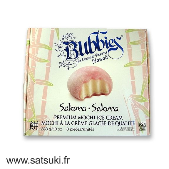 Ice cream mochi sakura Bubbie's 8pcs