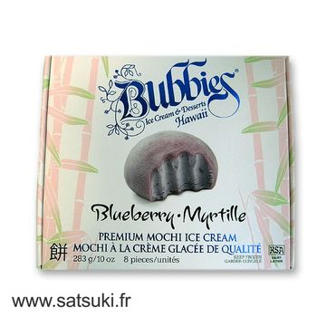 Ice cream mochi blueberry Bubbie's 8pcs