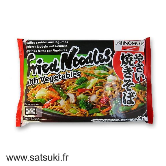 Ajinomoto yakisoba with vegetables 255g