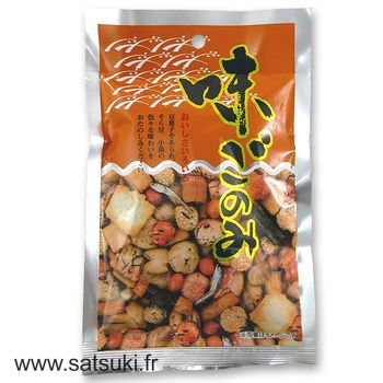 Popponut ajigonomi rice crackers 80g