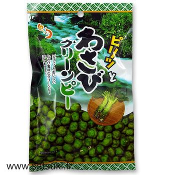 Popponuts wasabi mame crackers 70g