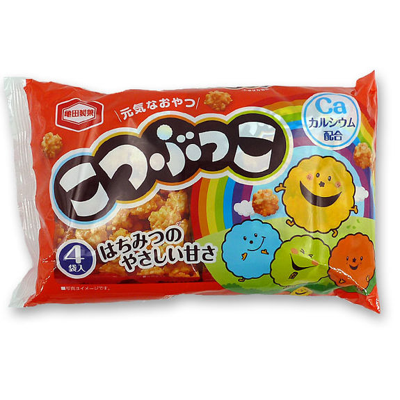 Kameda kotsubukko rice crackers 124g