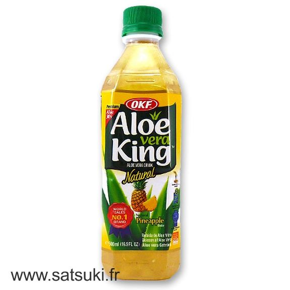 Aloe and pineapple drink