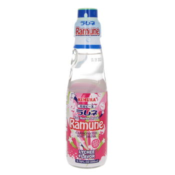 Kirmura ramune litchi flavour 200ml