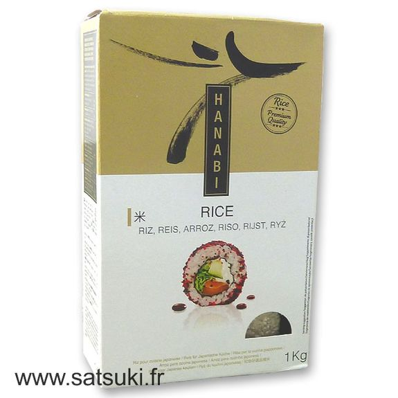 Hanabi rice for sushi and japanese dishes 1kg