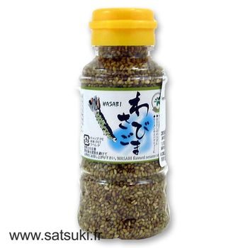 Sesame seed wasabi flavor 80g