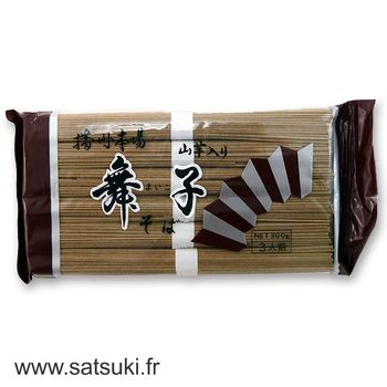 Maiko yamaimo buckwheat noodles with yam 300g (6x50g)