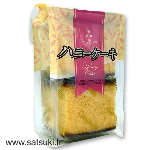 Japanese Honey cake Castella 4pcs