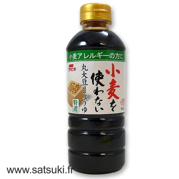 Wheat free soy sauce 500ml