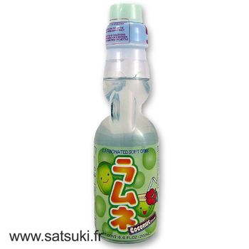 CTC ramune 200ml coconut flavor
