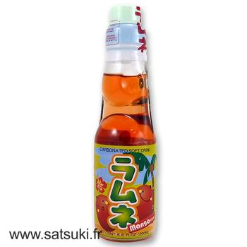 CTC ramune 200ml mango flavor
