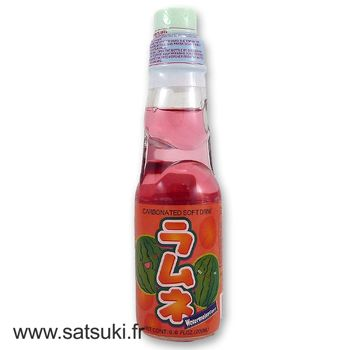 CTC ramune 200ml watermelon flavor