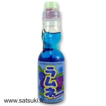 CTC ramune 200ml blueberry flavor