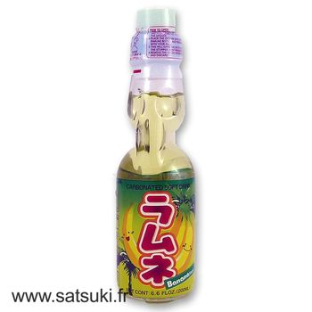 CTC ramune 200ml banana flavor