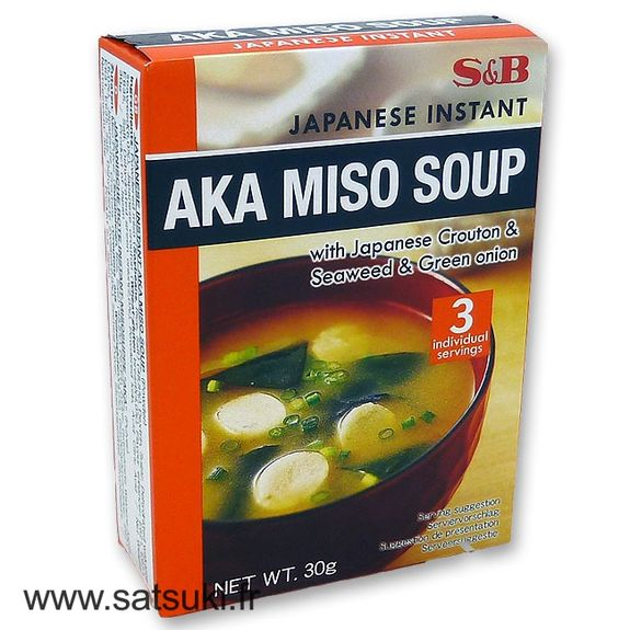 Red miso soup x3