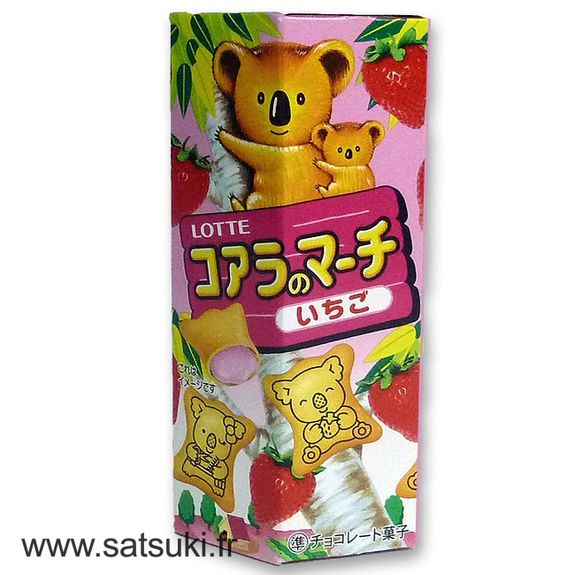 Koala no march strawberry 50g