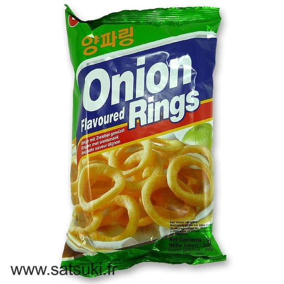 Crackers Onion rings 90g