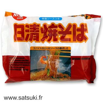 Nissin instant yakisoba with seasoning 100g