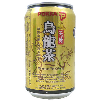 Canned oolong tea 300ml