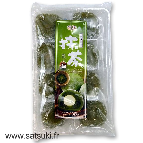 Matcha green tea cream mochi 360g 8 pcs