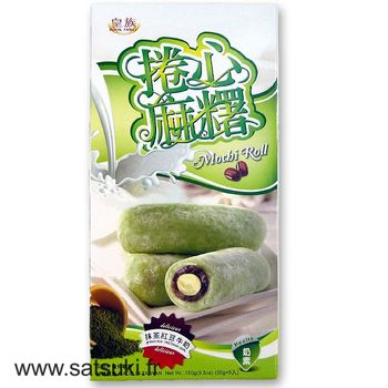 Mochi roll with azuki, green tea and concentrated milk 150g