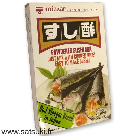 Powdered sushi mix 72g Mizkan