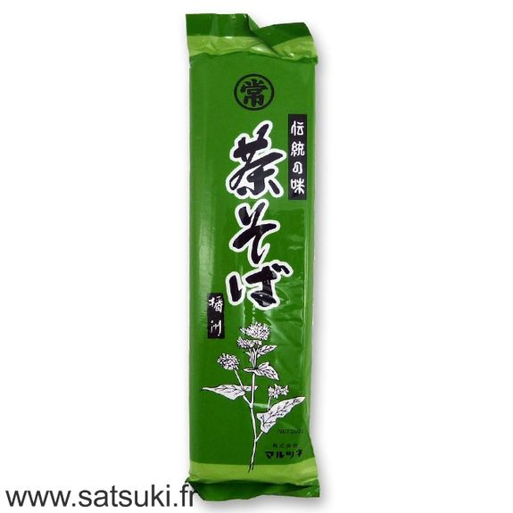 Noodles with green tea 250g