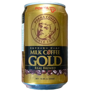 Canned Coffee with milk Pokka 300ml